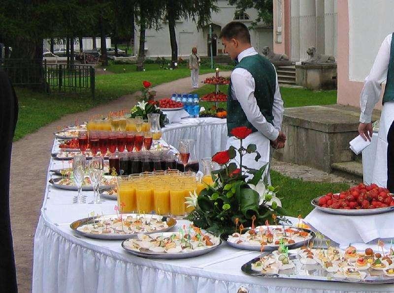 Услуги кейтеринга питание в Санкт-Петербурге
